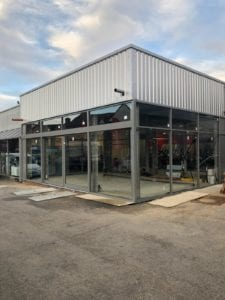 Car Showroom Extension